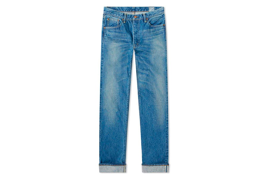 ORSLOW 107 IVY LEAGUE SLIM JEAN 2 year wash