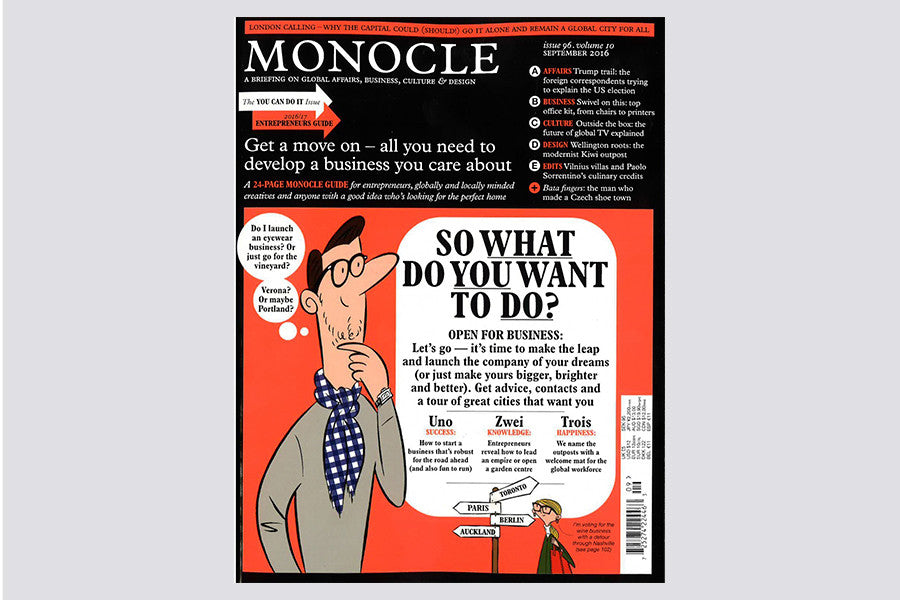 Monocle Issue 96 Vol. 10 September
