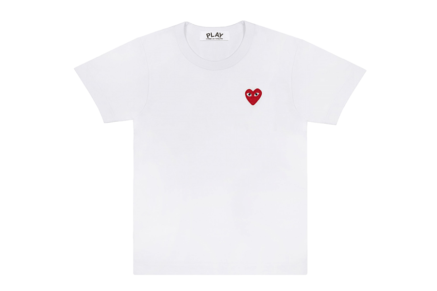 CDG PLAY T-Shirt (White)