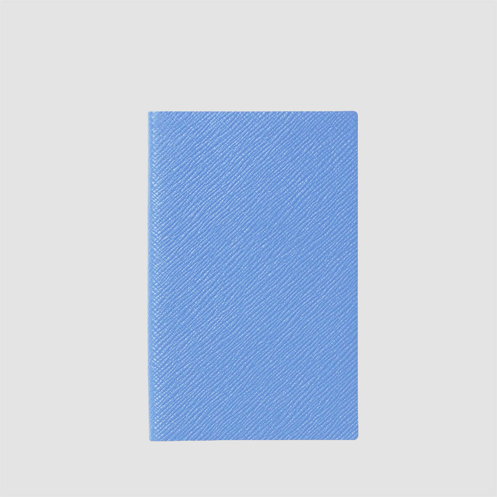 Smythson Panama Notebook Nile Blue