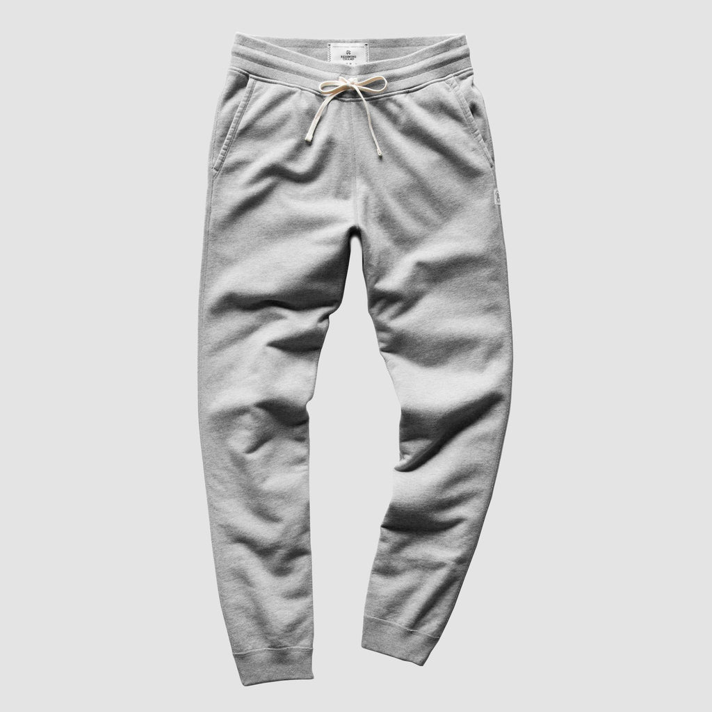 Reigning Champ Lightweight Terry Slim Sweatpants Heather Grey
