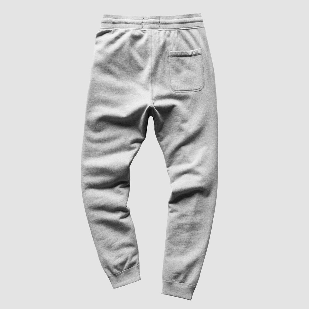 Reigning Champ Midweight Terry Slim Sweatpants Heather Grey