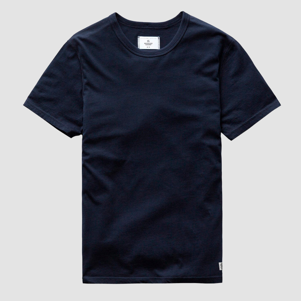 Reigning Champ Pima Jersey T-Shirt Navy