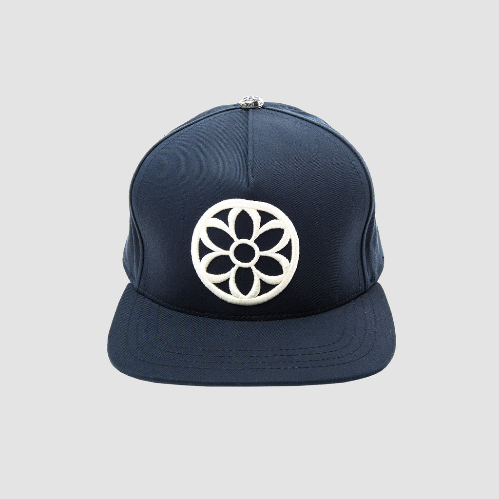 Good Art Recycle This Cap... White Rosette & Navy Cap