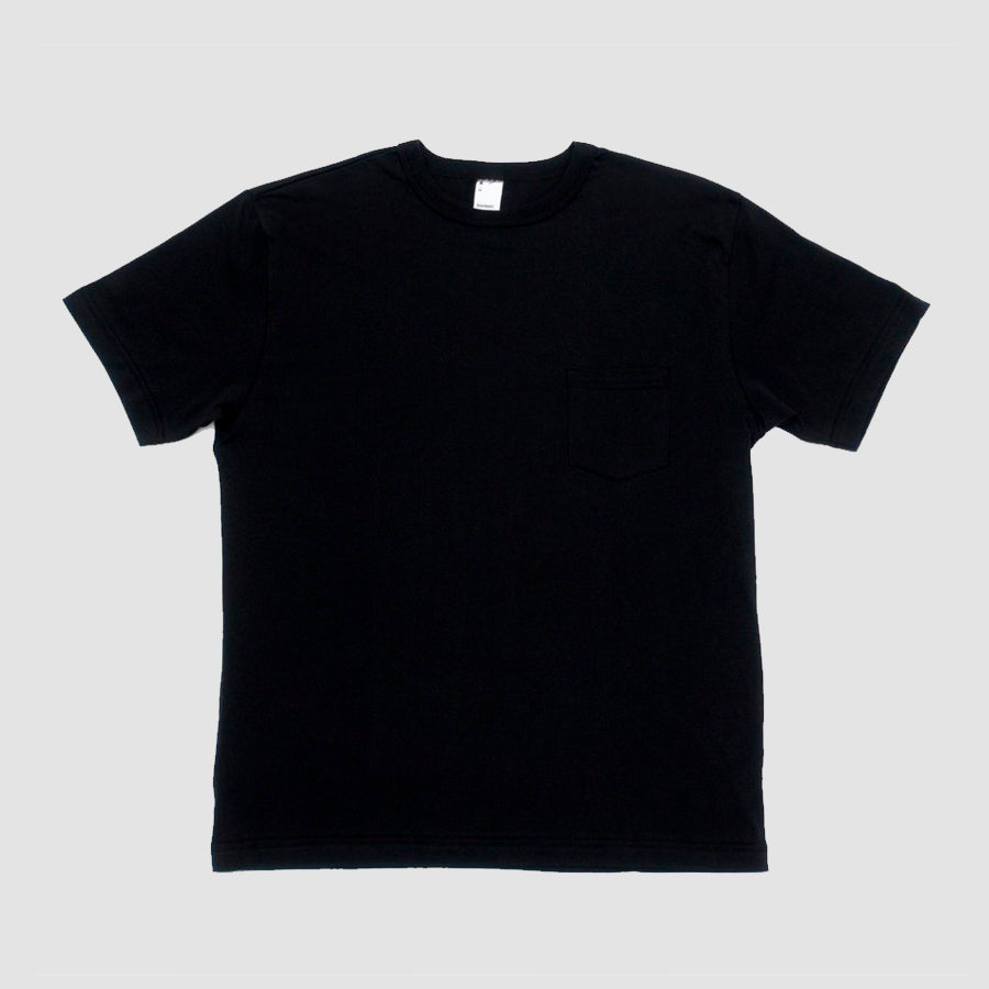 3sixteen Pima Pocket T⁠-⁠Shirt Black