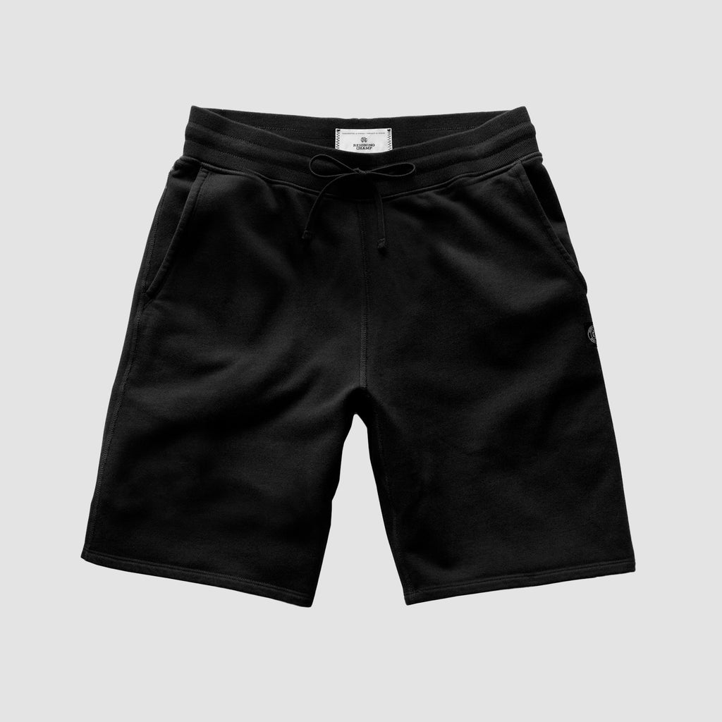 Reigning Champ Lightweight Terry Sweatshort Black