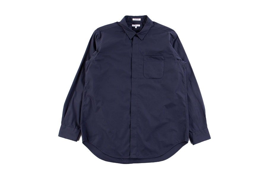 Engineered Garments Short Collar Shirt Navy