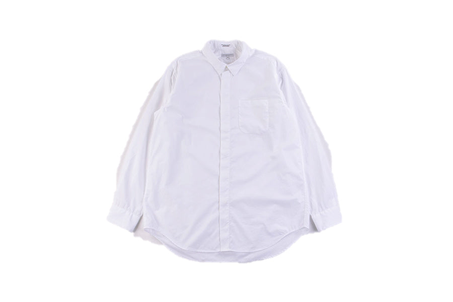 Engineered Garments Short Collar Shirt White