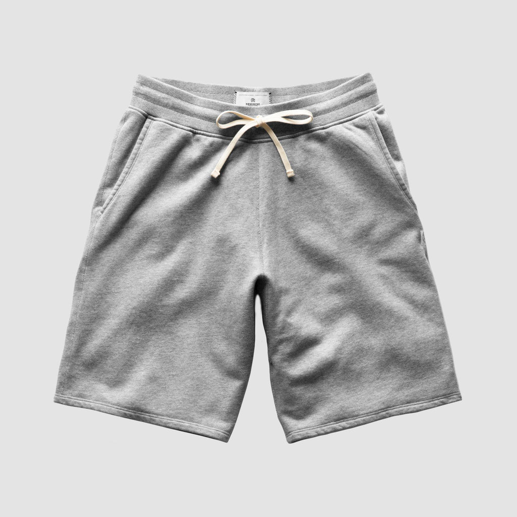 Reigning Champ Midweight Terry Sweatshort Heather Grey
