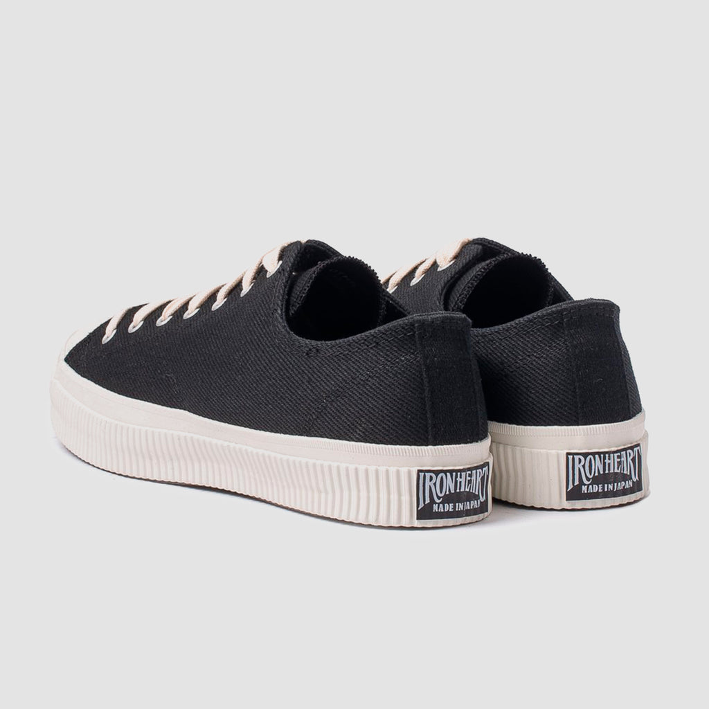 21oz IHSN-01 Denim Low-Top Sneakers Superblack
