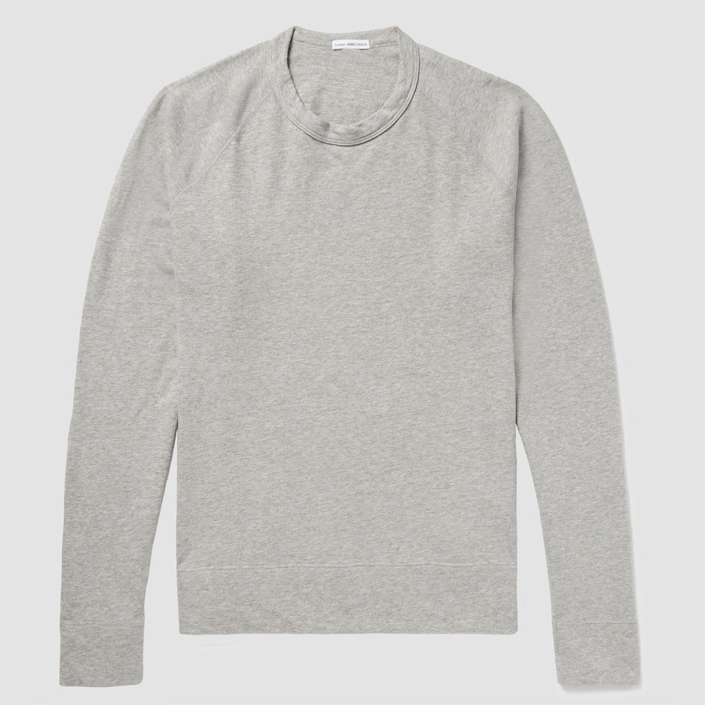 James Perse Vintage Fleece Sweatshirt Gris