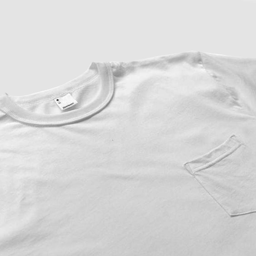 3sixteen Pima Pocket T⁠-⁠Shirt White