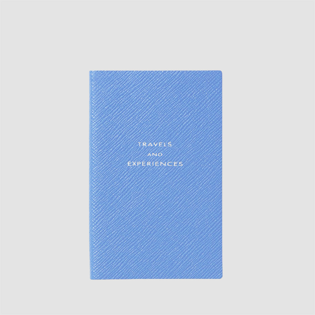 Smythson Travels and Experiences Panama Notebook Nile Blue