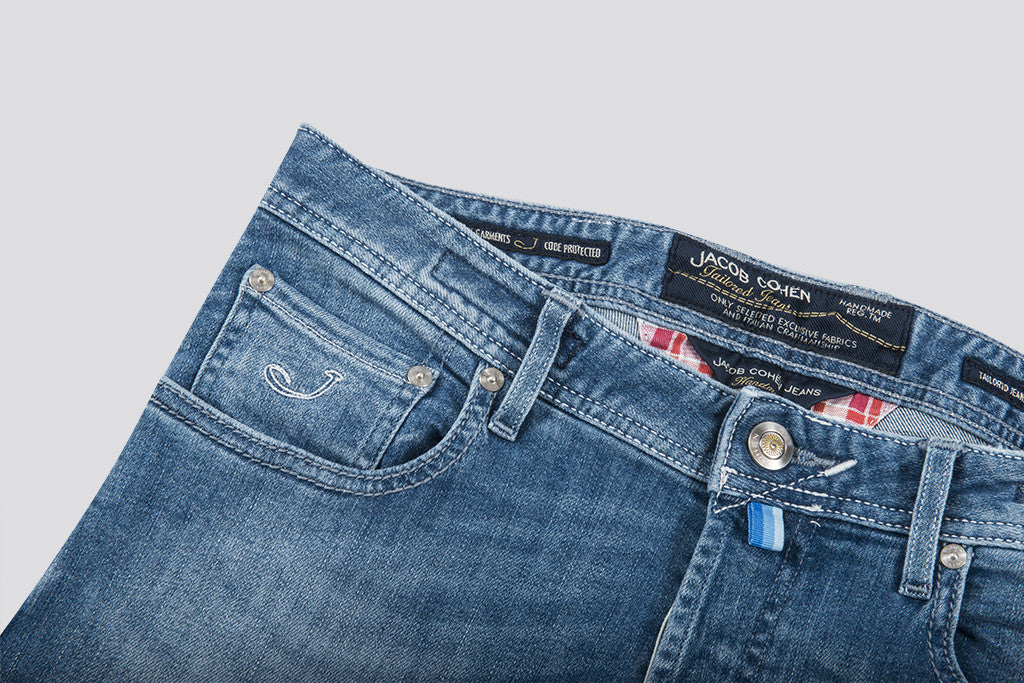 Jacob Cohen Stretch Jeans Blue