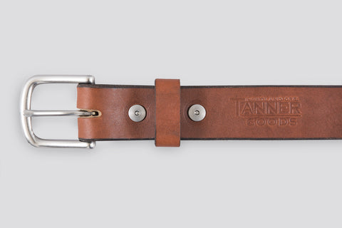 Tanner Goods Classic Belt Chicago Tan