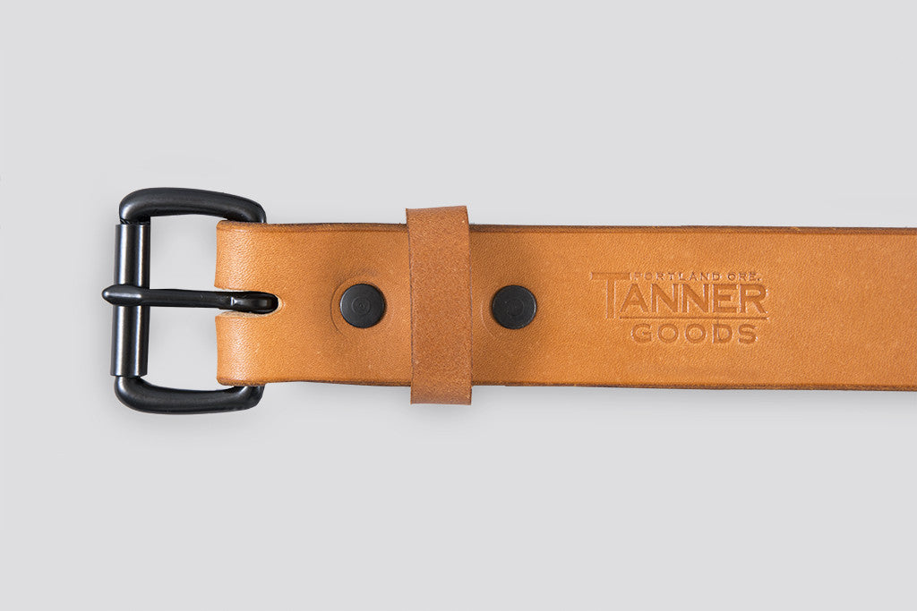 Tanner Goods Standard Belt Tan/Black
