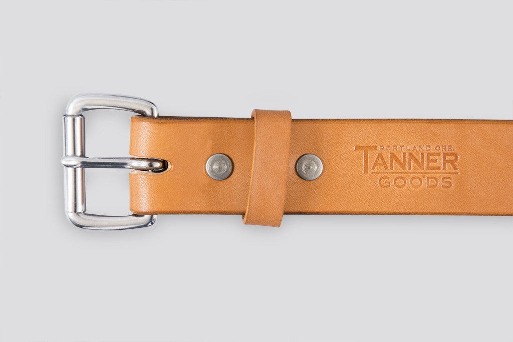 Tanner Goods Standard Belt Tan