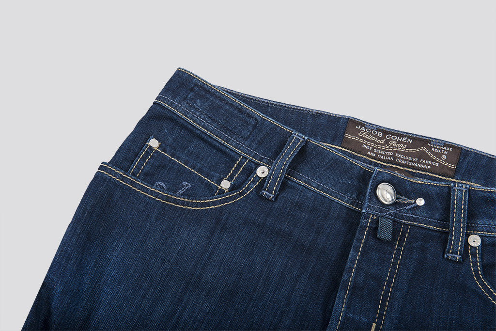 Jacob Cohen  Slim Comfort Stretch Jean Indigo