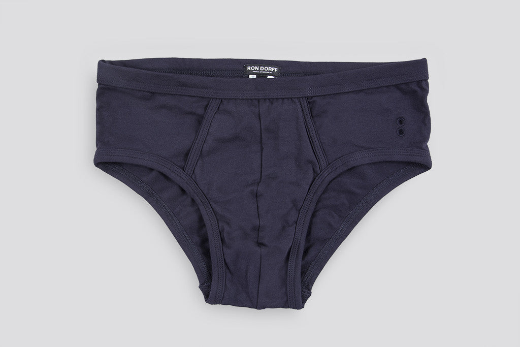 Ron Dorff Y-Front Briefs Navy