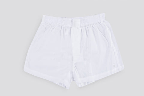 Ron Dorff Boxer Shorts White