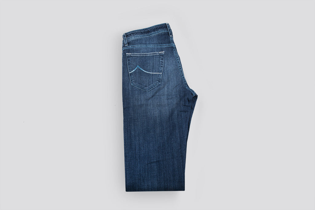 Jacob Cohen  Slim Comfort Stretch Mid blue denim
