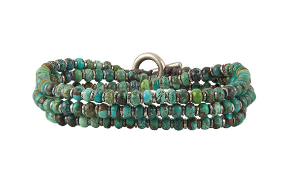 M. Cohen The Axis Turquoise Bracelet