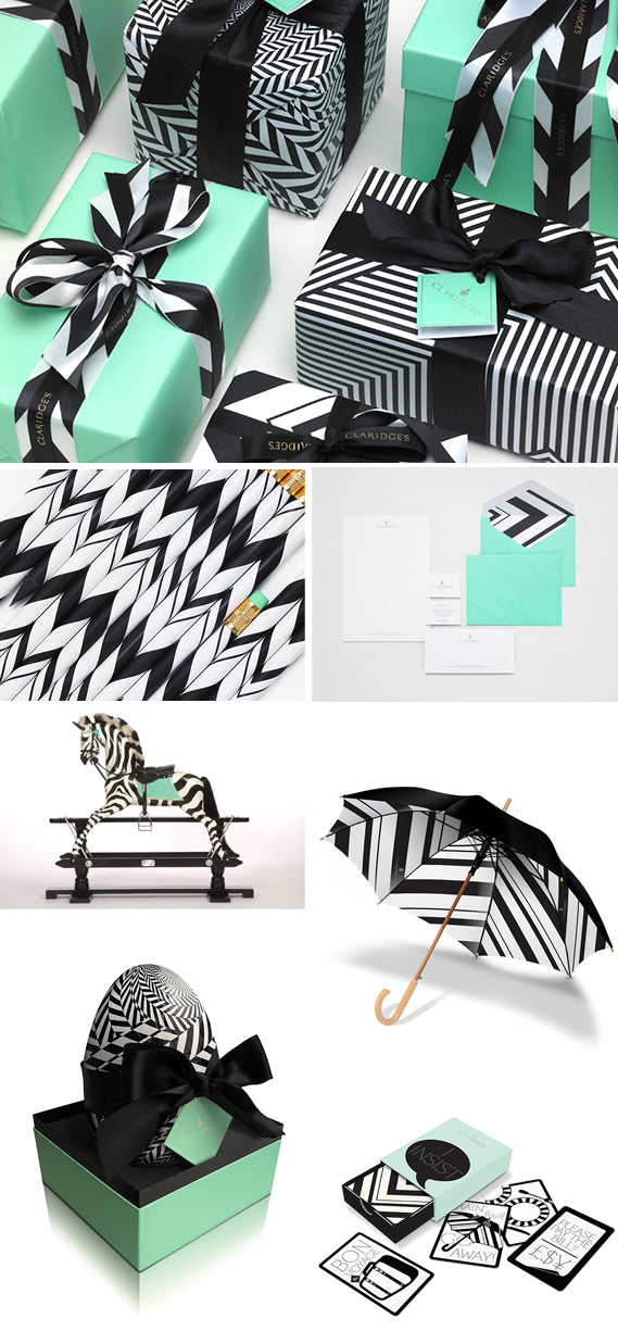 Color Crush: Black, White & Aqua