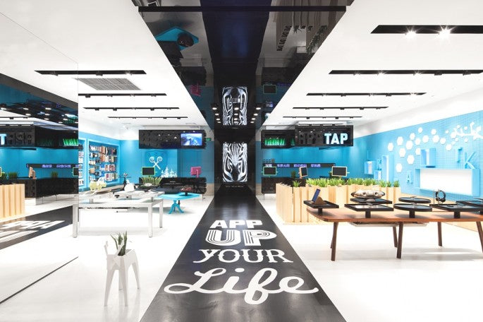 Visually stunning store concept in Shenzhen, China