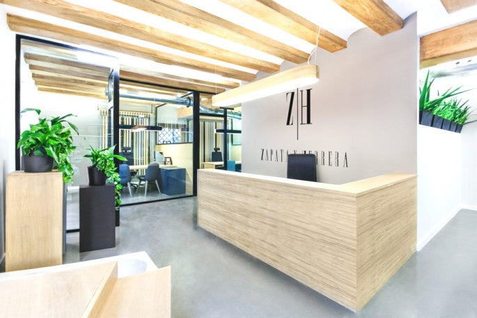 Sleek And Chic Office Interior Design Project Spain Modshop
