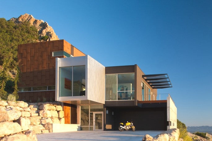 Contemporary H House, Salt Lake City