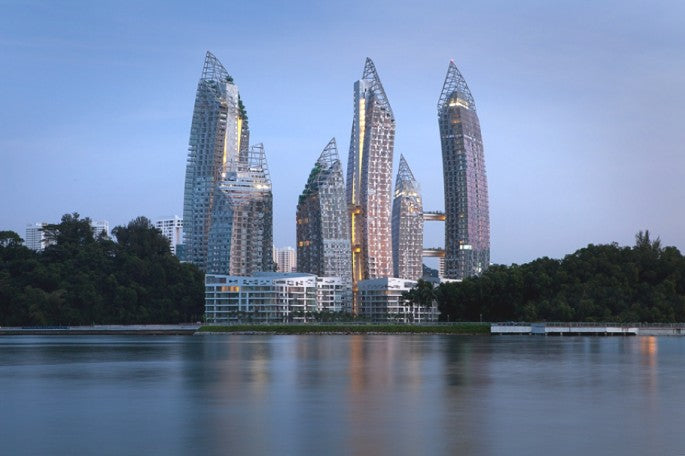 Reflections at Keppel Bay, Singapore