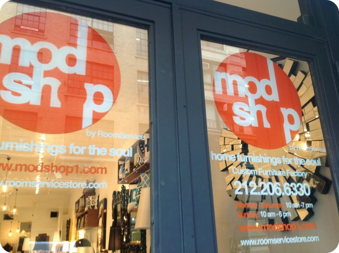 modshop by room service in nyc