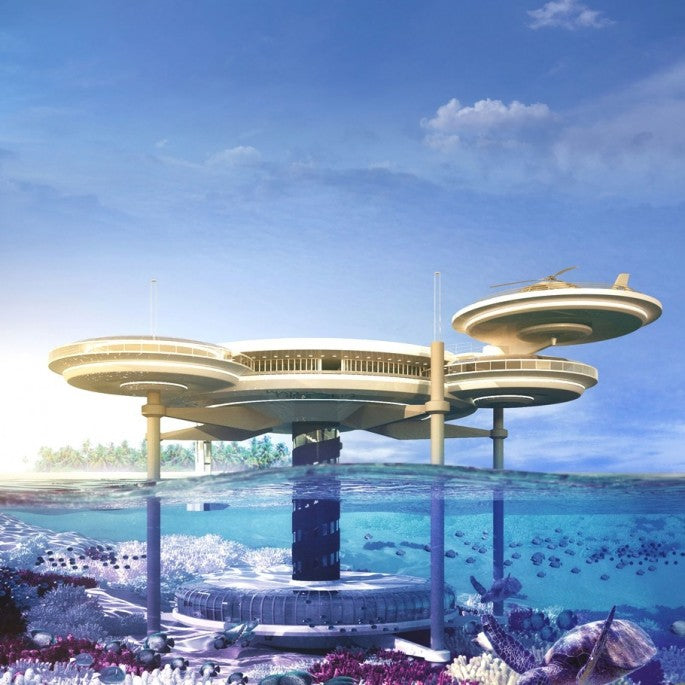 Luxury Underwater Disc Hotel, Dubai