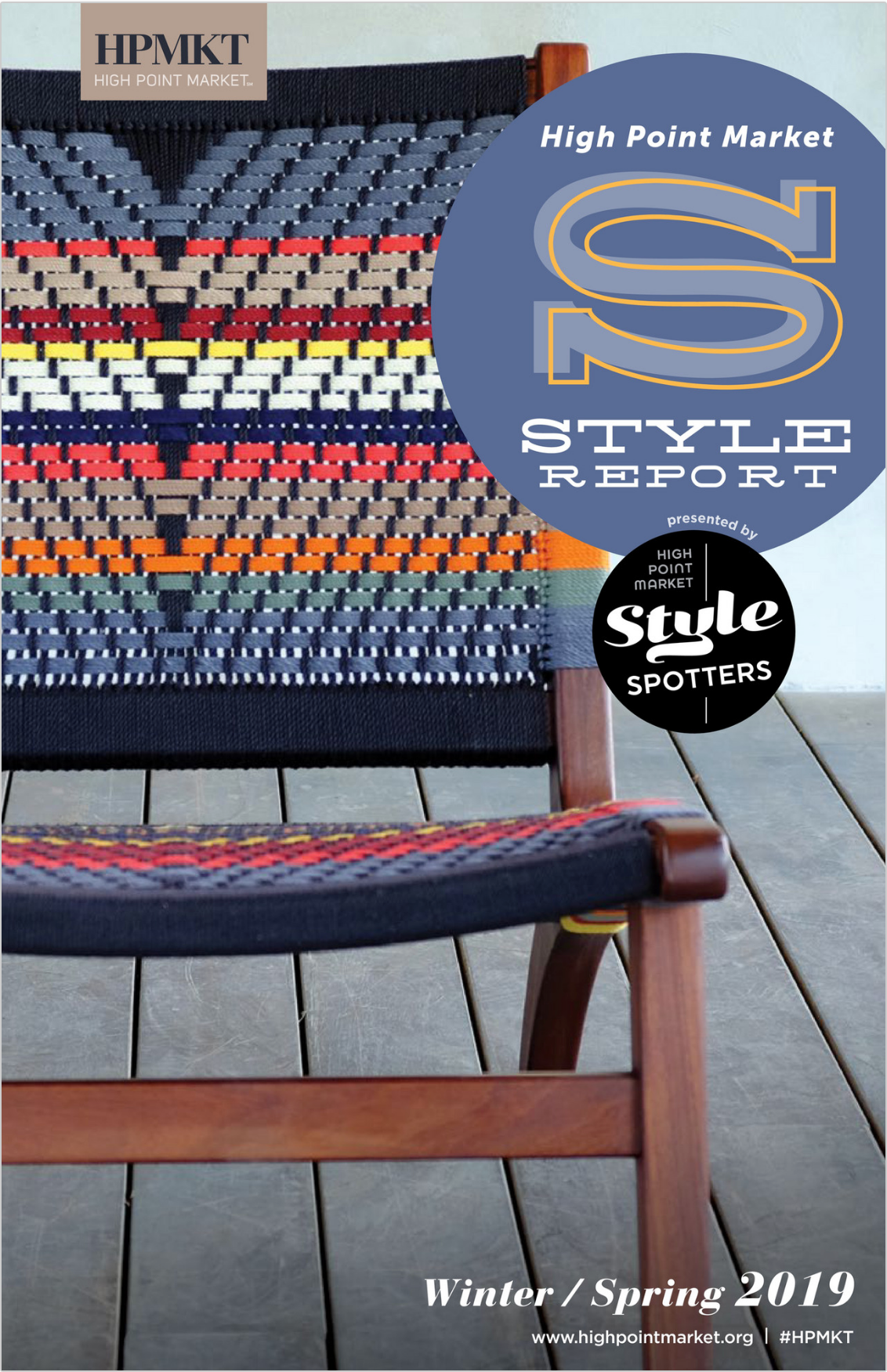 high point market style report magazine cover for spring 2019