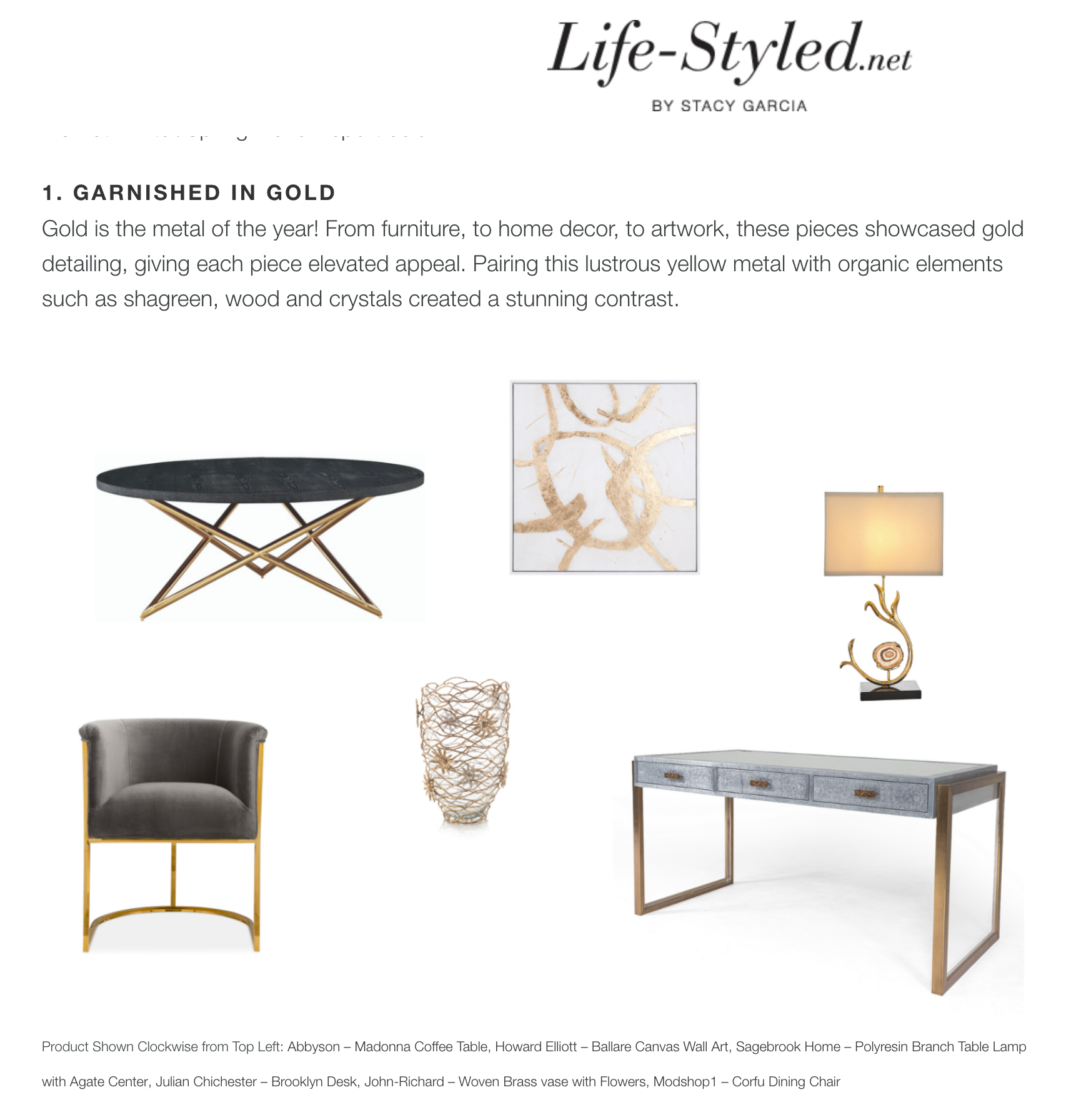 high point market style report article life-styled.net by stacy garcia featuring modshop's corfu dining chair