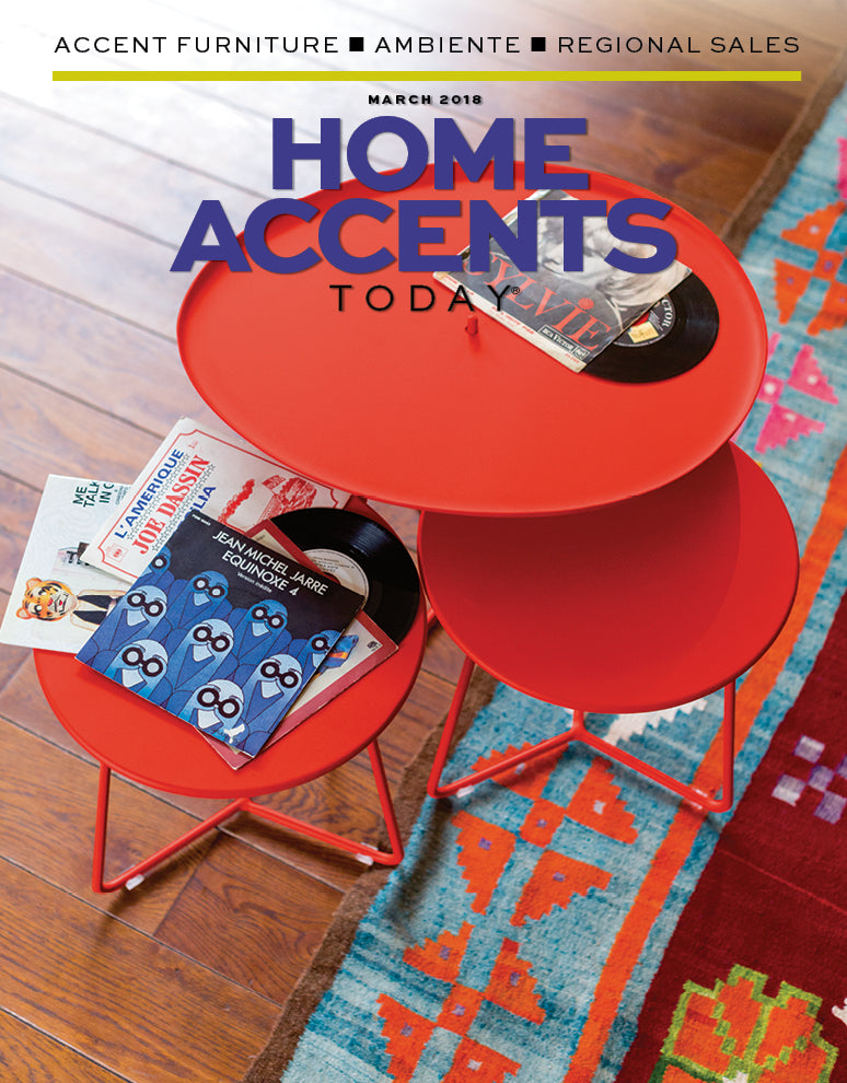 home accents magazine cover for march 2018