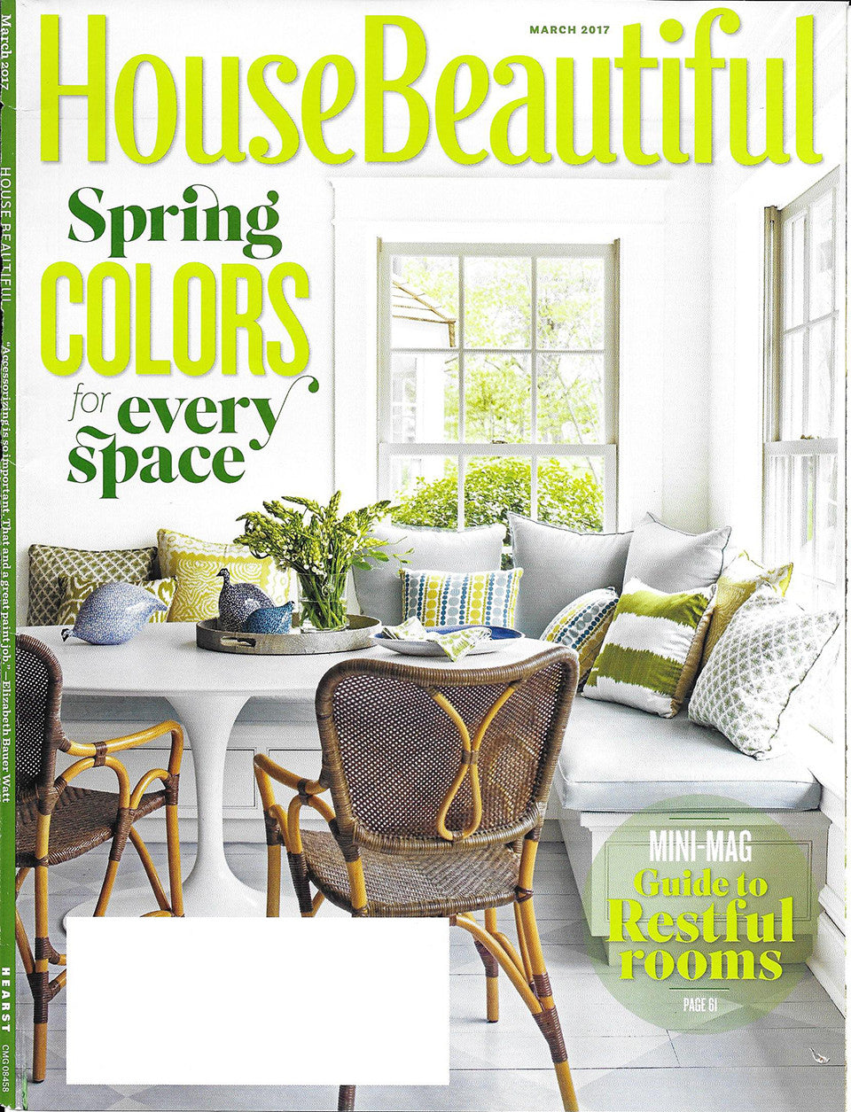 house beautiful magazine cover for march 2017