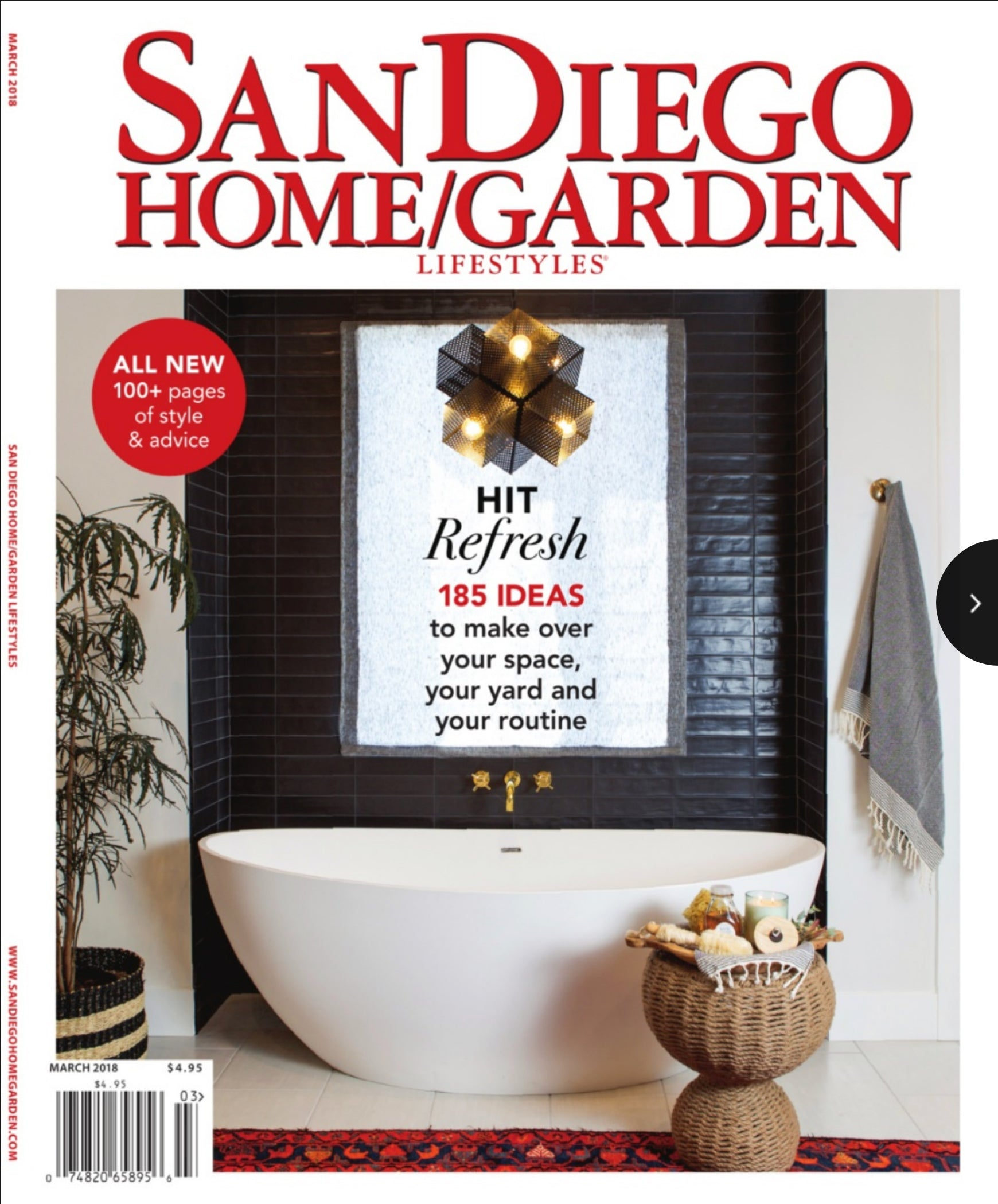 san diego home garden lifestyles magazine cover for march 2018