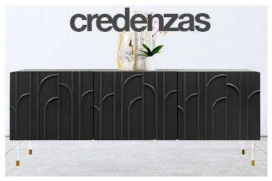 navigation for modern credenza category