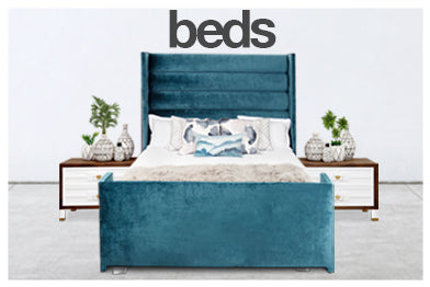 navigation for modern beds and headboards category