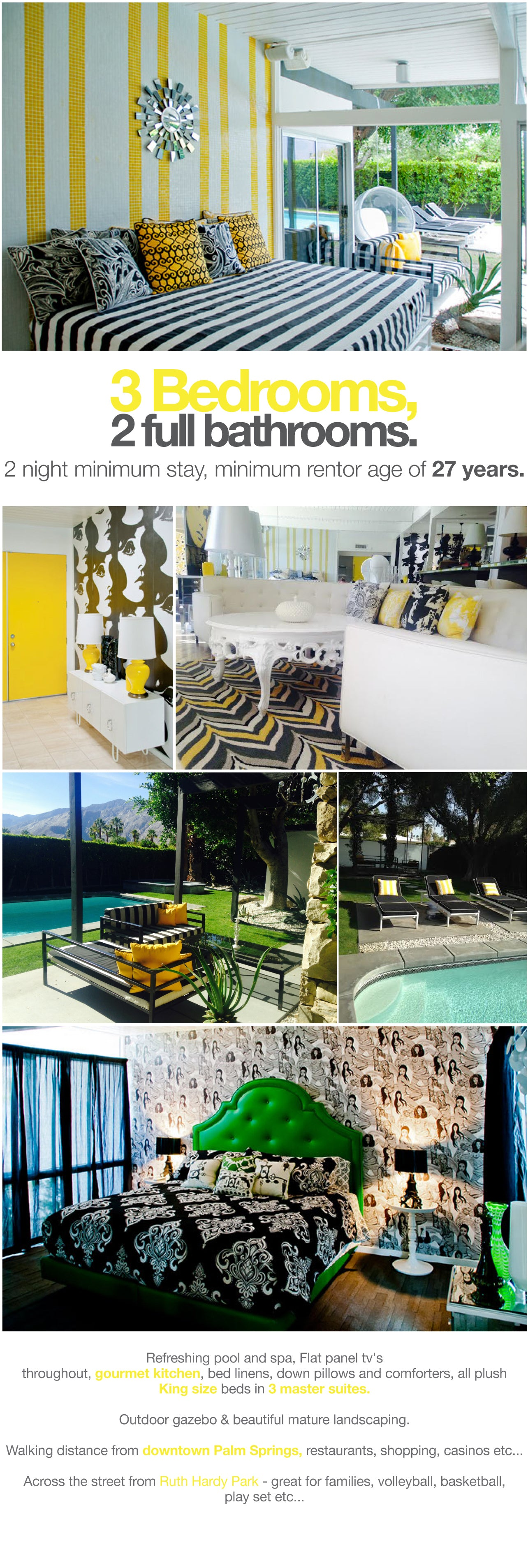 The Park Vacation Home Palm Springs Modshop