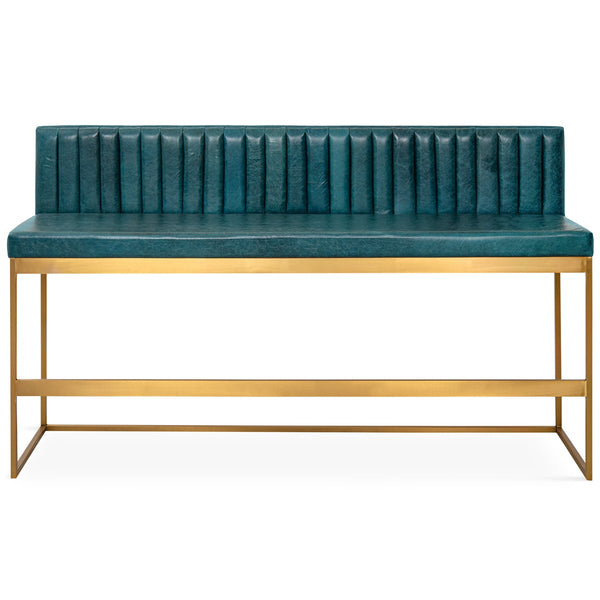 007 Bar Height Bench with Channel Tufting - ModShop1.com