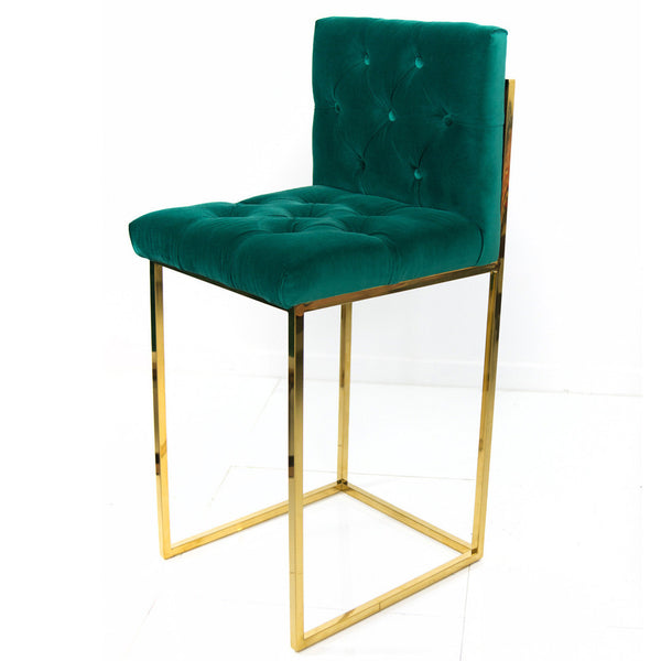 007 Bar Stool in Regal Velvet