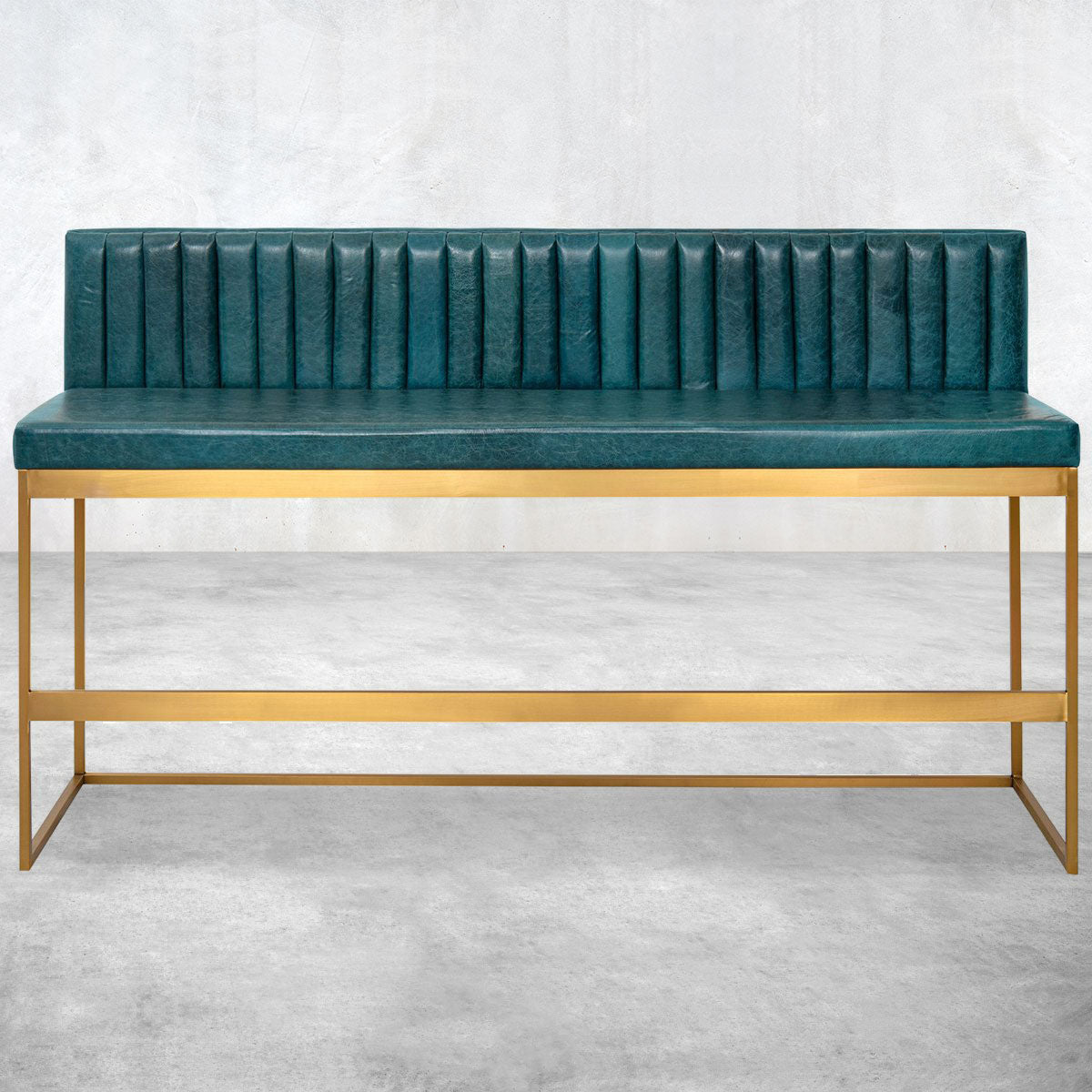 007 Bar Height Bench with Channel Tufting