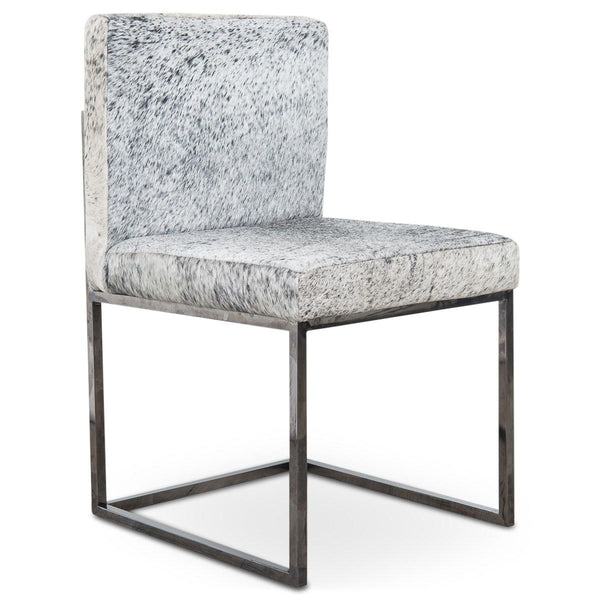 007 Dining Chair In Cowhide