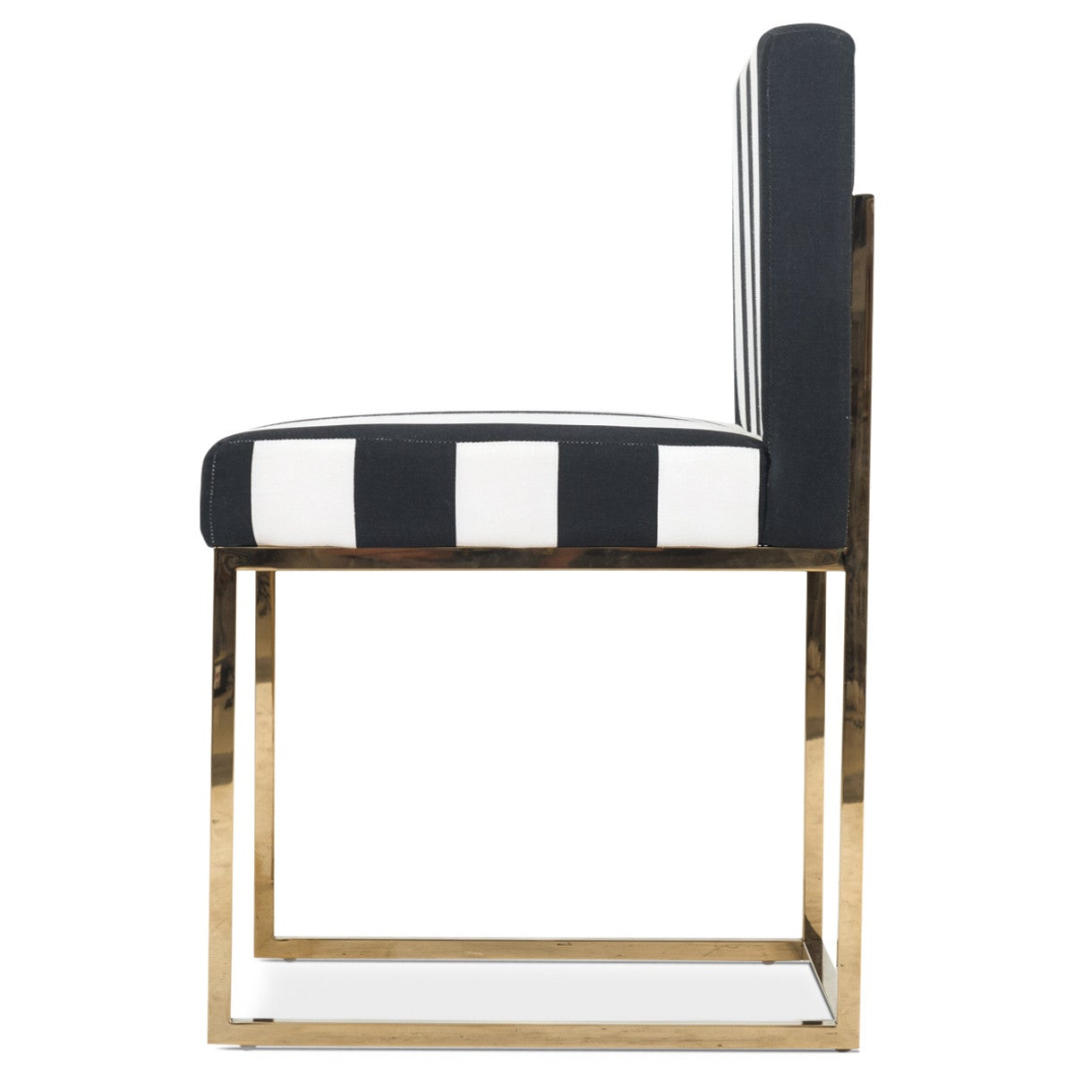 Super Modern Black And White Striped Dining Chair Modshop Ibusinesslaw Wood Chair Design Ideas Ibusinesslaworg