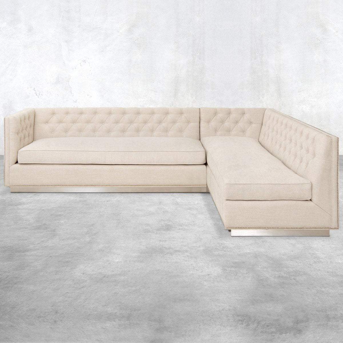 007 Sectional in Chenille