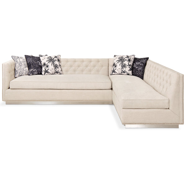 007 Sectional in Chenille - ModShop1.com