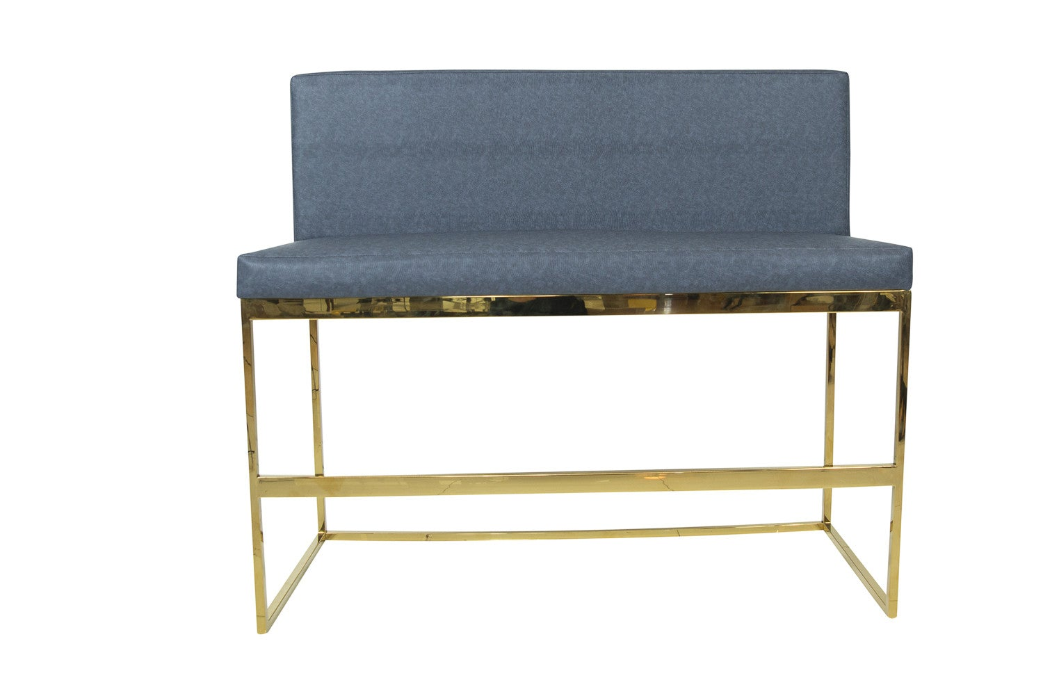 007 bar height bench modern bench with full back modshop