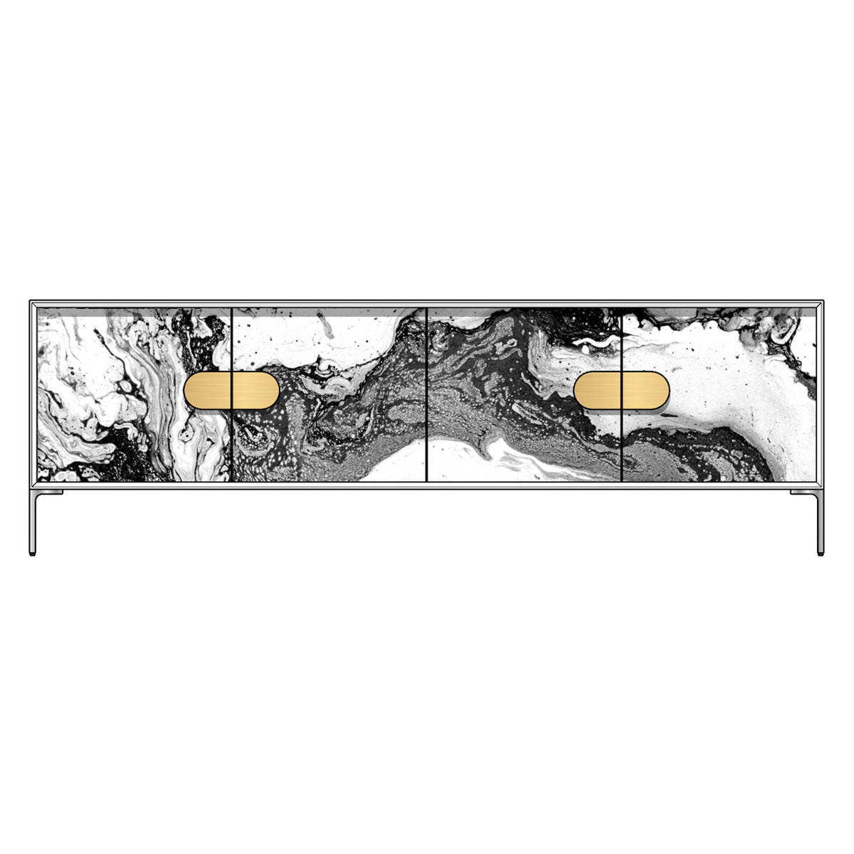 "4"" Racetrack Pulls (Sold as a Pair)"